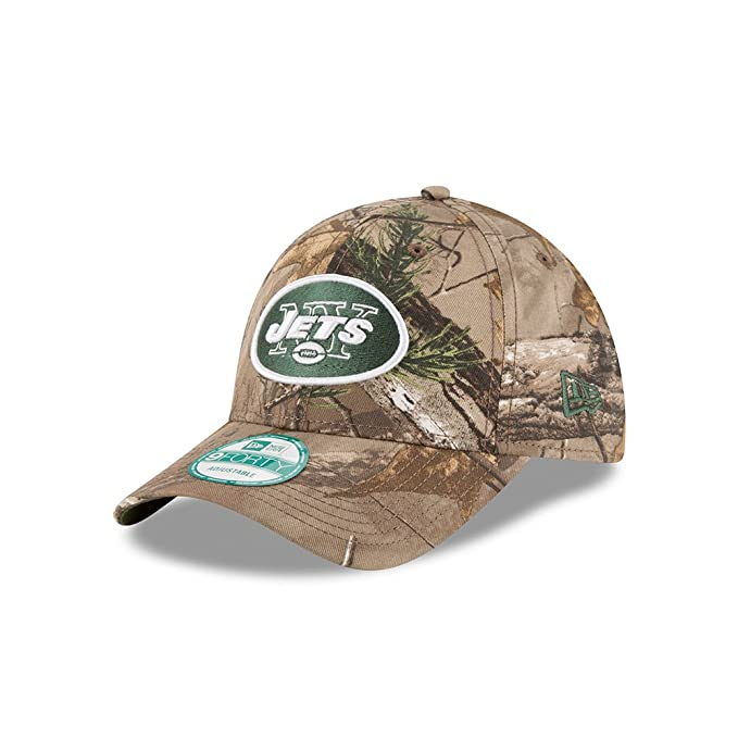 b4374f647 Amazon.com : New York Jets The League Realtree Camo 9FORTY ...