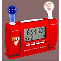 Sevilla FC Official Digital Projector Alarm Clock