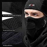 KINGBIKE Balaclava Ski Face Mask Windproof Warm Hood for...