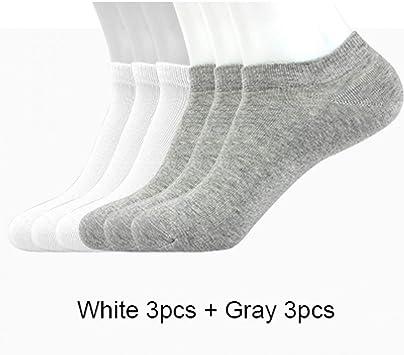 CXKWZ Calcetines De Hombre Calcetines De Algodón para Hombres Tallas Invisibles De 6 Pares (36-46) Calcetines Tobilleros para Hombres: Amazon.es: Deportes y aire libre