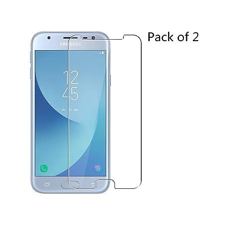 Schutzfolie f/ür Samsung Galaxy J3 2016 9H H/ärte HD Transparent Displayschutzfolie Geh/ärtetem Glas Schutzglas Panzerglas Folie 2 St/ück Anti-Kratzen Samsung Galaxy J3 2016 Panzerglas,