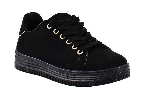 Style Shoes Daim Tennis By Femme dhrCQts