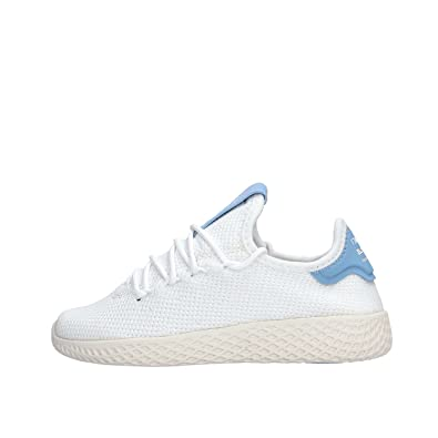 adidas Pharrell Williams Tennis hu C Triple White 32: Amazon