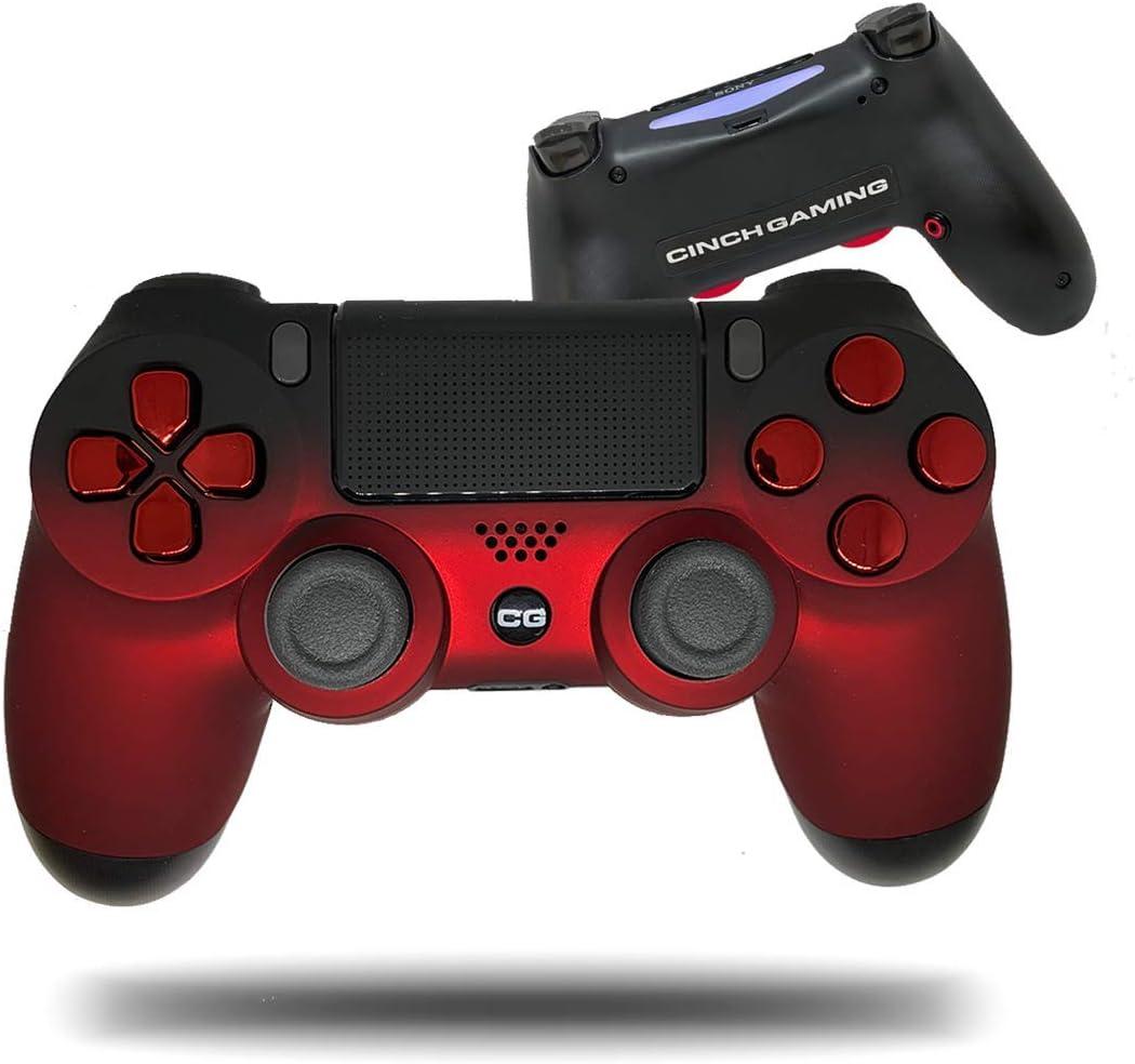 Cinch Gaming PS4 Red Fade Custom Pro: Amazon.es: Electrónica