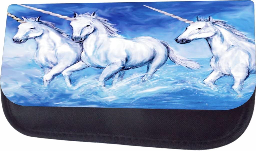 Unicorns In The Waves Jacks Outlet School Backpack and Pencil Case Set