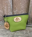 A-Frame Pop Up Camper Personalized Gusset Pouch with Matching Keychain