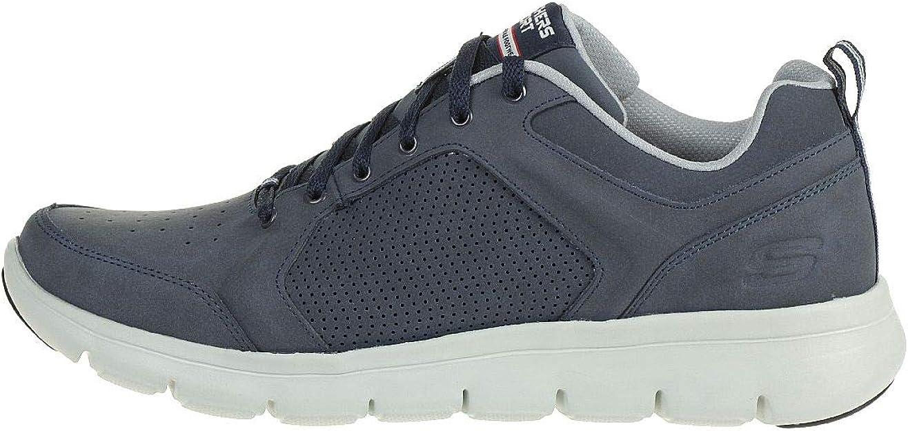 Skechers 999840NVGY Sneaker Uomo Navy Gray Man Blu Grigio Marauder Sky Jolt