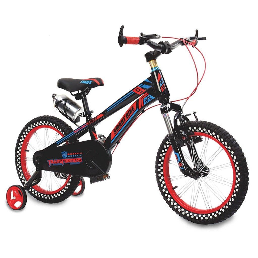 子供用自転車3~4歳の男の子と女の子14インチマウンテンバイクショックアブソーバー子供用、黄色/赤 ( Color : Red ) B07BXBNTWL