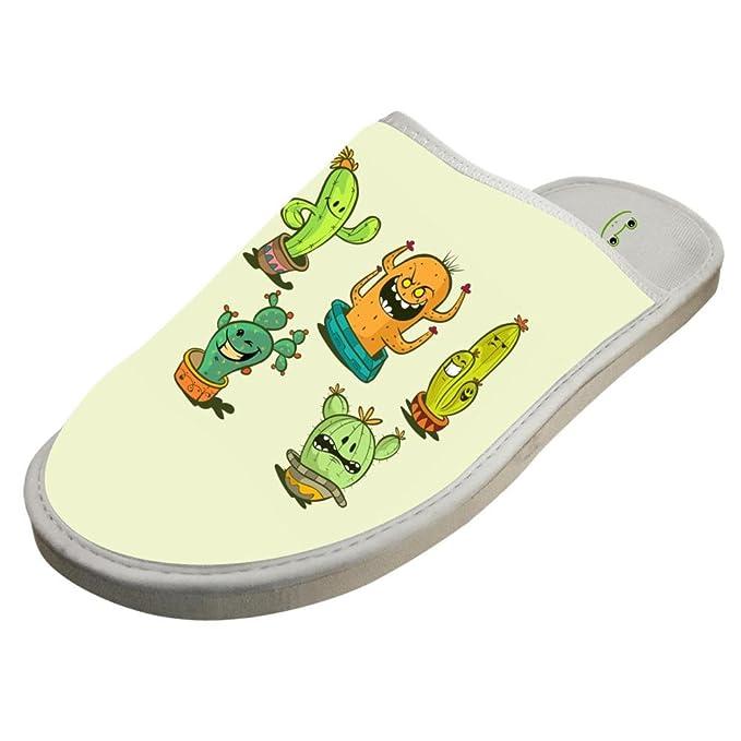 Amazon.com: Heiyoua Zapatillas de invierno cálidas para casa ...