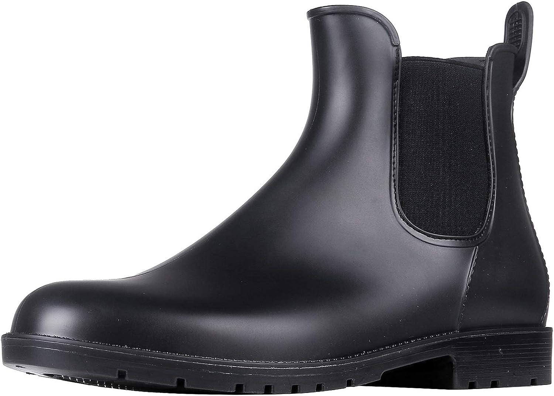 Amazon Com Asgard Women S Ankle Rain Boots Waterproof Chelsea Boots Rain Footwear