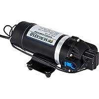 Moracle Bomba de Diafragma de Bomba de Agua Automática de Alta Presión DP-160M