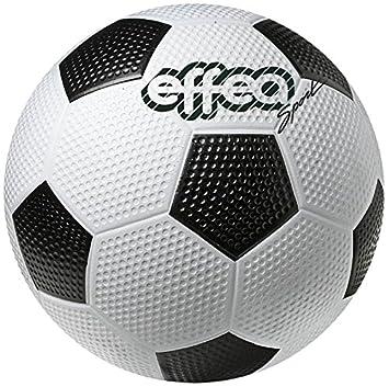 EFFEA 6810/4 Balón Fútbol, Blanco/Negro: Amazon.es: Deportes y ...