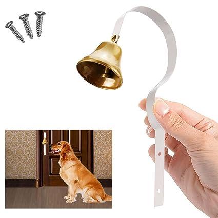 Amazon Comsmart Tinkle Dog Bell Pet Door Bell Hanging Brass
