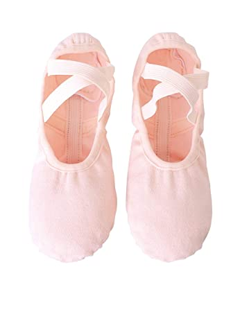 Amazon.com: HiDance zapatillas de ballet de lona, zapatillas ...
