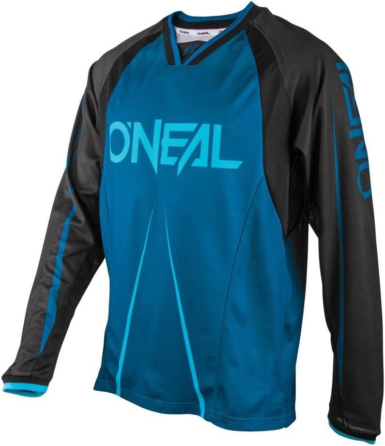 ONeal Element FR Unisex-Adult Jersey Blocker Blue//Black, Large