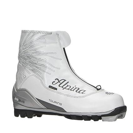 Amazoncom Alpina T Eve Womens NNN Cross Country Ski Boots - Alpina cross country boots