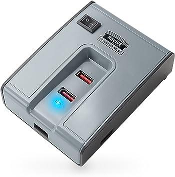 Cargador USB 5 puertos HUB 6A Enchufe Pared España: Amazon.es: Electrónica