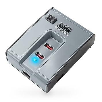 Cargador USB 5 puertos HUB 6A Enchufe Pared España: Amazon ...