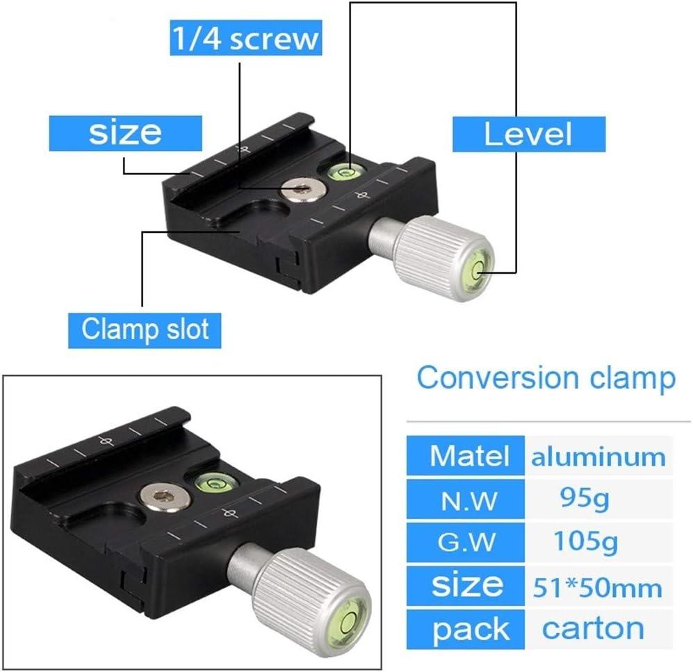 Camera Belt Strap Camera Clamp Adapter Mount Quick Release Clamp Tripod Ball Head Clamp for Arca Swiss Tripod DSLR Camera Tripod Plate Durable