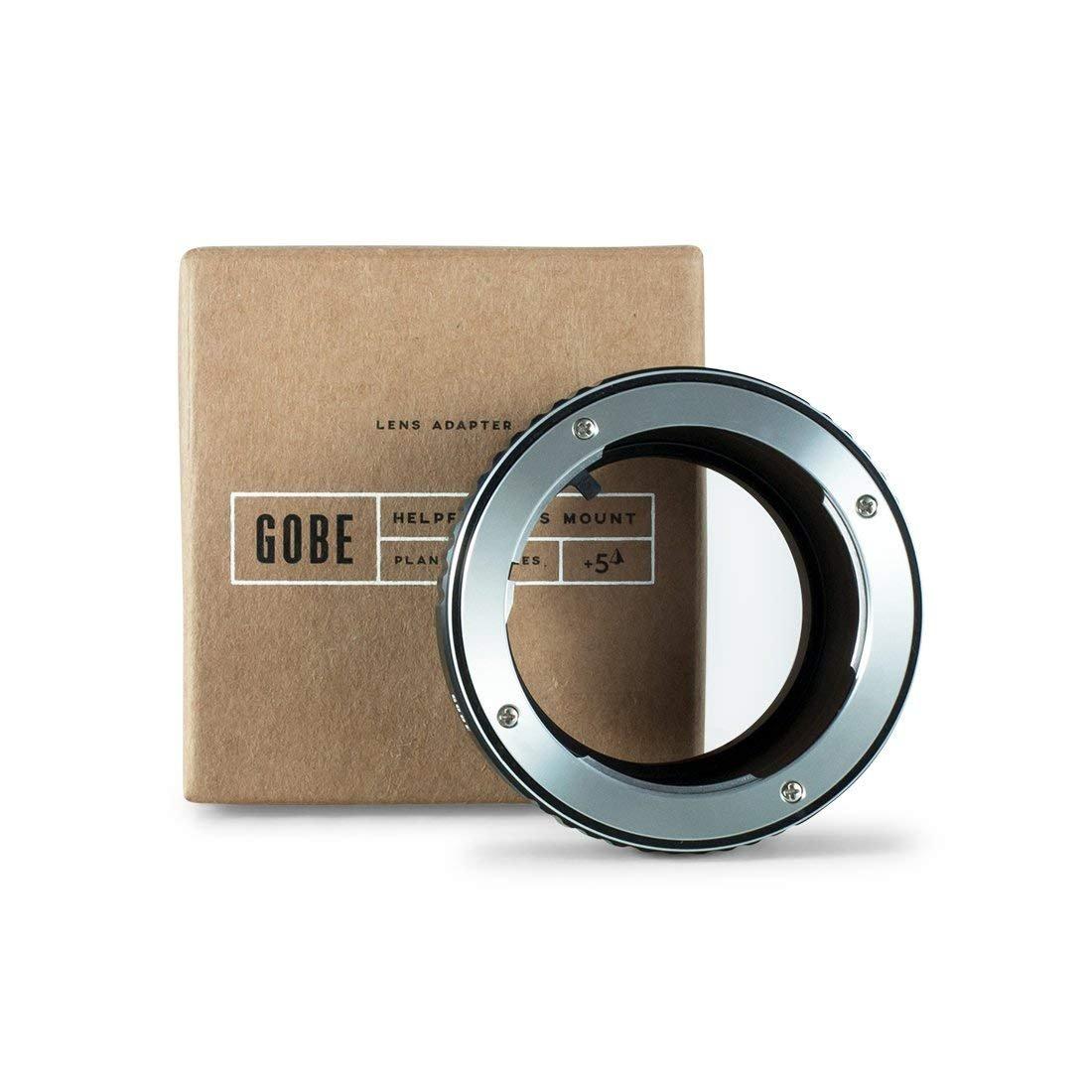 Gobe Adaptador de Lente Compatible para Lentes Pentax K y cuerpos de c/ámara Sony E