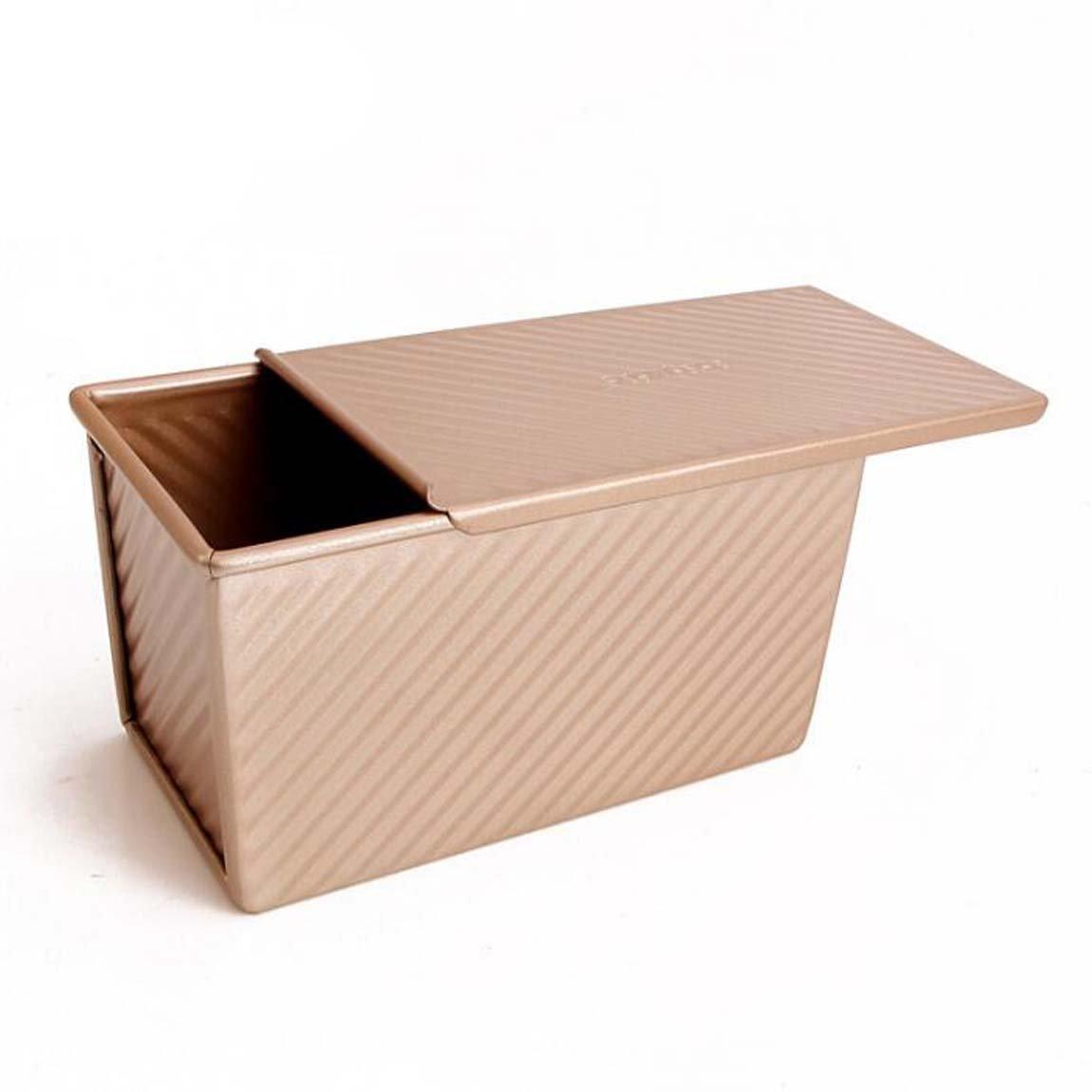 CAN_Deal Rectángulo Antiadherente Tostadas Caja De La Cocina De Reposteria Molde De Pan Para Hornear: Amazon.es: Hogar