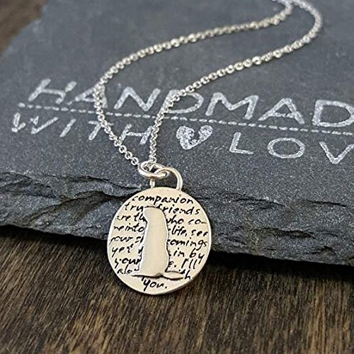 Companion Sterling Silver Pendant Necklace product image