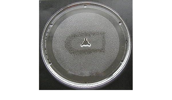 Sanyo/Sears apta para microondas de cristal Tocadiscos placa ...