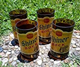 Set of 4 Shiner Bock upcycled glasses Review