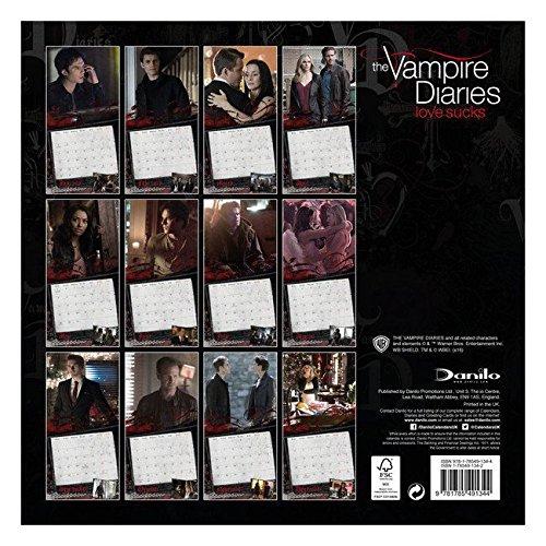 Calendario 2017 Vampire Diaries Love Sucks - Serie TV ...