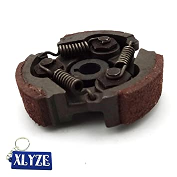 XLYZE Heavy Duty Steel Clutch Pad para 47cc 49cc Mini ATV Quad Moto Pocket Dirt Bike