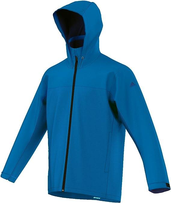 Adidas Climaproof Regenjacke Funktionsjacke Damen Blau im