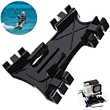 D&F Kiteboard Surfing Kite Line Mount Holder+Buckle Accessory Kit for GoPro Hero 4 3+ 3 2 SJ4000