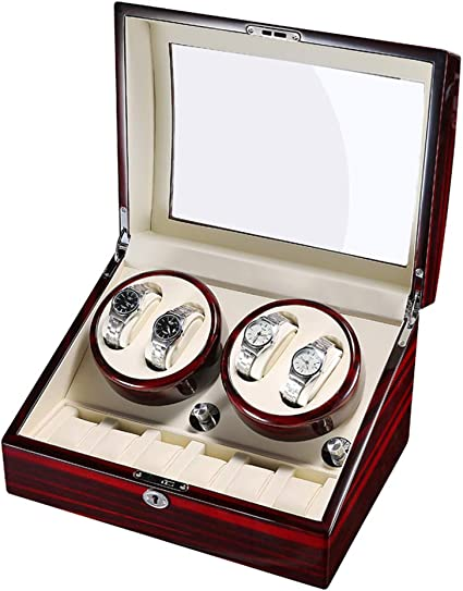 Watch Winder Caja Relojes Automaticos Silencioso Cajas Giratorias ...
