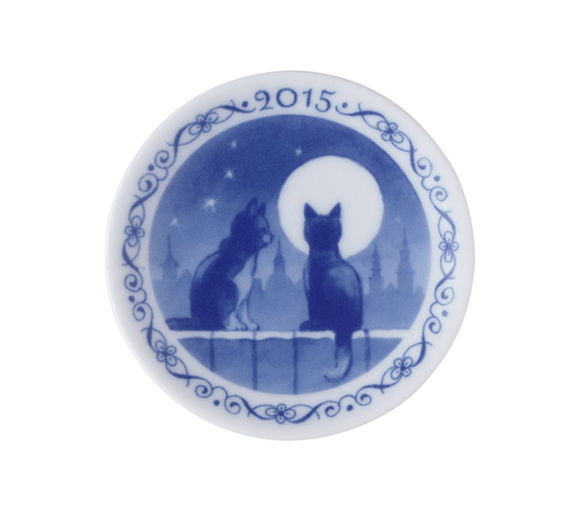 Royal Copenhagen 1415702 Annual Christmas Plaquette 2015