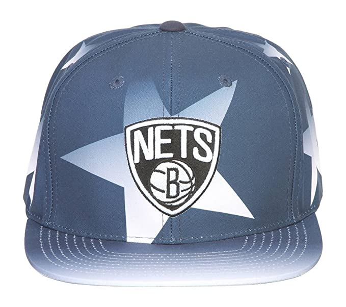 3bfa7ab4be1b31 Image Unavailable. Image not available for. Color  Mitchell   Ness NBA Brooklyn  Nets Award Ceremony Adjustable Snapback Hat
