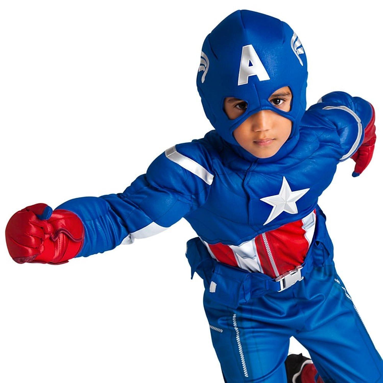 Amazon.com: Disney Store Deluxe Marvel Captain America Avengers ...
