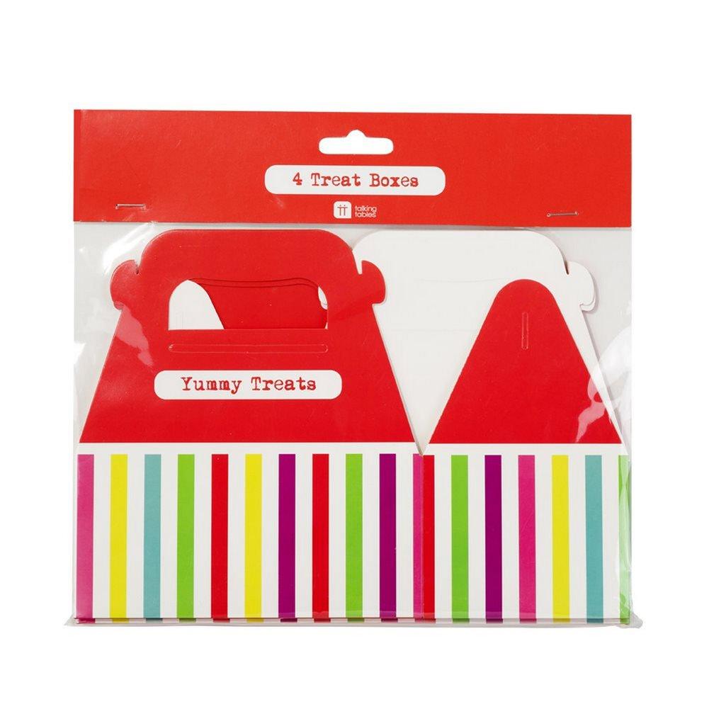 Talking Tables Mix and Match Scatola per dolci colore: Blu confezione da 4