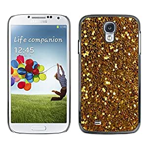 FECELL CITY // Duro Aluminio Pegatina PC Caso decorativo Funda Carcasa de Protección para Samsung Galaxy S4 I9500 // Glitter Sparkly Pattern Bling