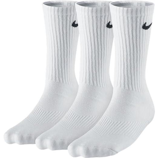 Nike 3P YTH CTN Cush Crew W/Moist, Calcetines unisex niños, pack de 3 unidades,: Amazon.es: Deportes y aire libre