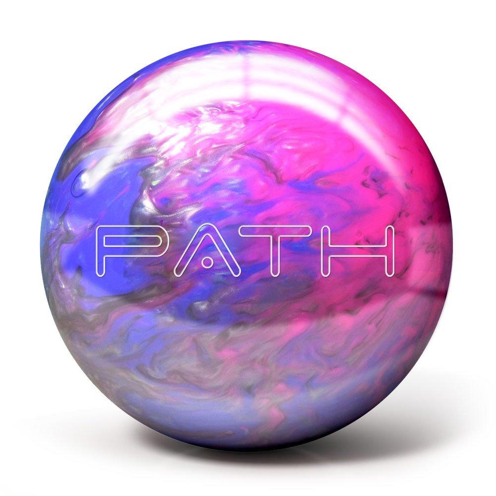 Pyramid Path Bowling Ball (Pink/Purple/Silver, 10LB) by Pyramid