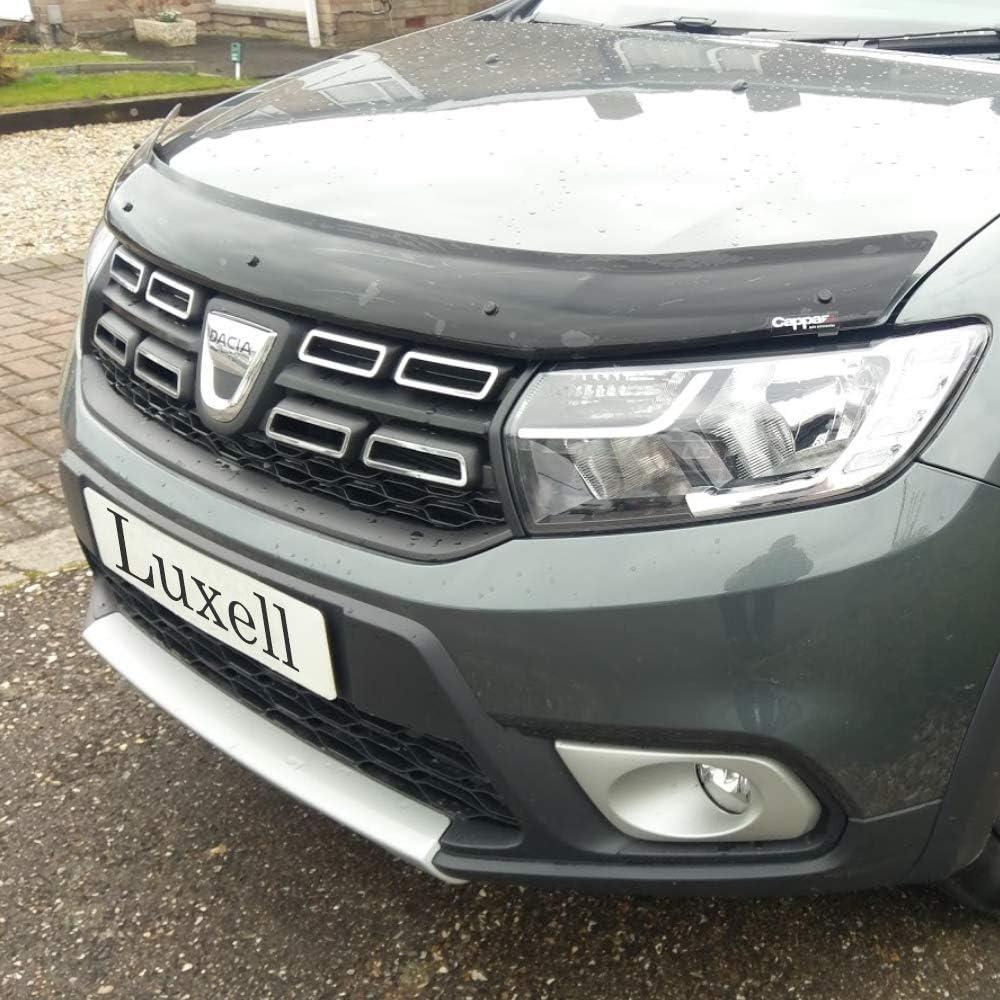 Luxell Motorhaubenschutz Windschutz Steinabweiser Für Staubwedel Auto