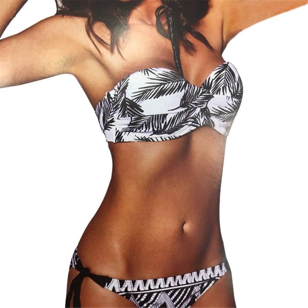 Darringls_Traje de baño,Bikini Una Pieza Bañador Micro Bikini Verano bañadores Mujer Bikini Deportivo Mujer Beachwear Swimsuit upbra Bikini