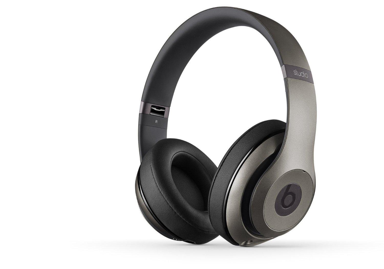 Amazon.com: Beats Studio Wireless On-Ear Headphone - Titanium (Certified Refurbished): Home Audio & Theater