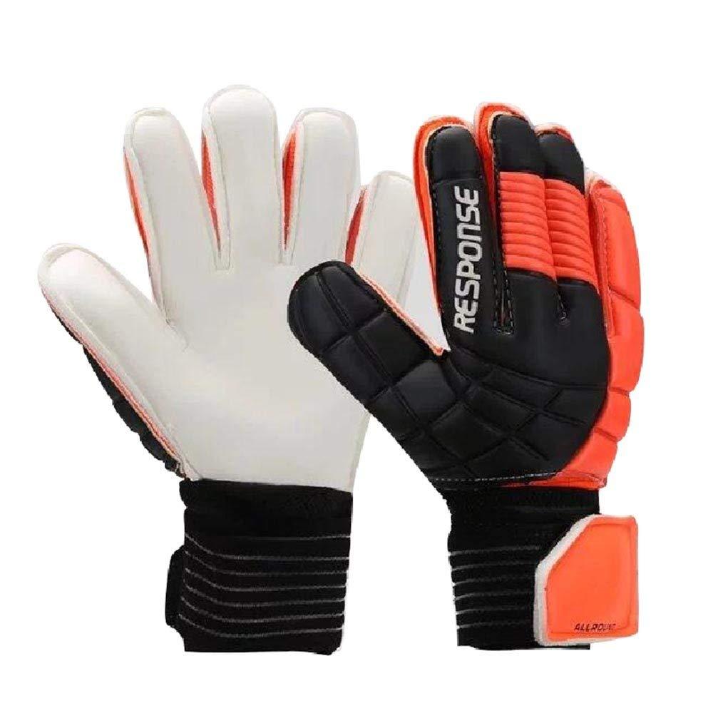 Gloves Latex-Fußballhandschuhe Fußballhandschuhe   Torwarthandschuhe für Gantry, Farbe  C