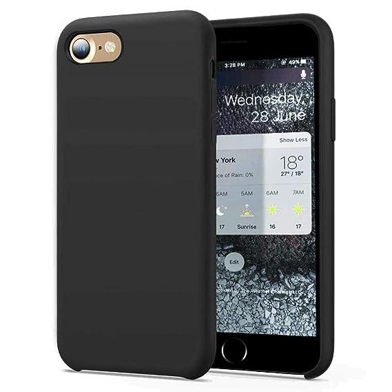 black gel iphone 8 case