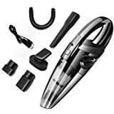 Handheld Vacuum Cordless Cleaner, Multi-Function Car Vacuum Cleaner Cordless with USB Charger 120W 3000 PA High Power Car Wash Vacuum Cordless Portable Handheld Auto Vacuum Cleaner