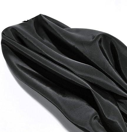 Tela gruesa impermeable, tela de algodón-Negro: Amazon.es: Hogar