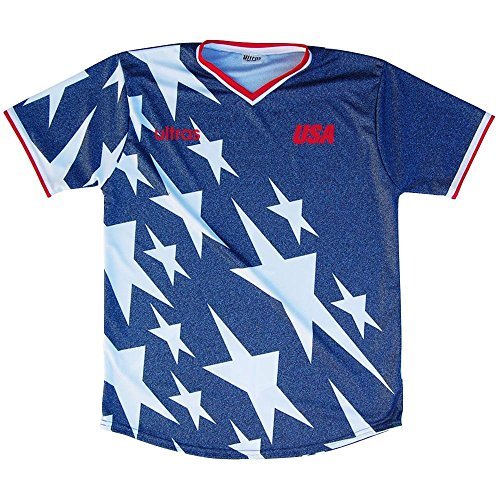 a63258191 USA 1994 Denim Soccer Jersey-Blue-Adult X-Large for sale Delivered anywhere