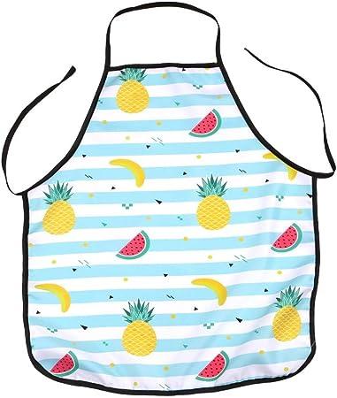 YJYDADA Avental de abacaxi à prova d'água para cozinha e