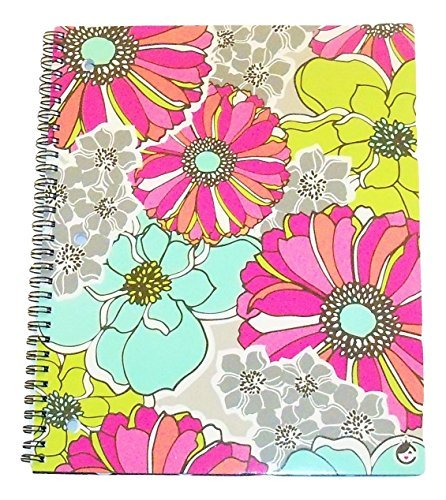 (Carolina Pad Studio C College Ruled Spiral Notebook ~ Whimsical Flower (Floral Collage; 8.5 x 10.5; 80 Sheets, 160 Pages) by Carolina Pad)